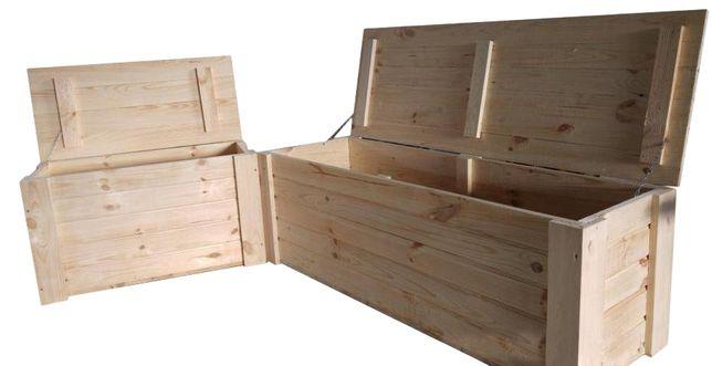 Kufer Drewniany Kuferek Skrzynia XL 120x50x50 Cała Polska