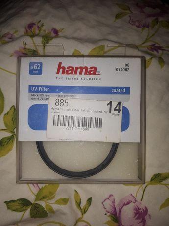 Hama filtr uv 62mm do aparatu