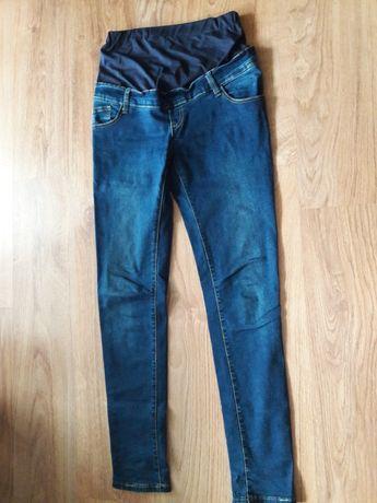 Spodnie jeansy ciążowe M