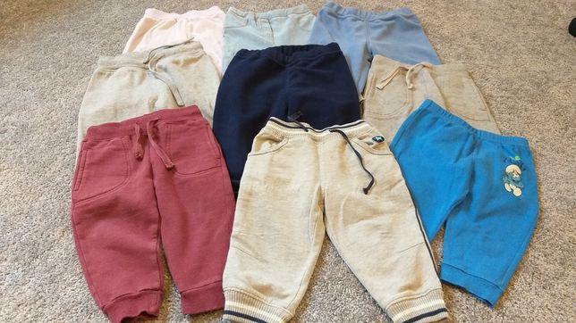 Spodnie dresowe r 74 cena za 6szt