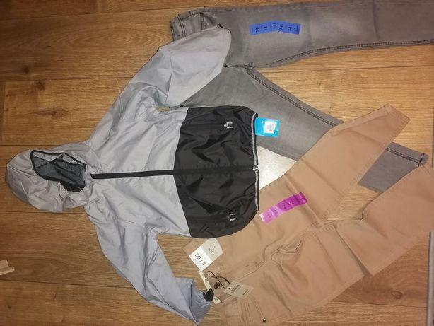 Ubranka dla chłopca, spodnie kurtka, 122-128