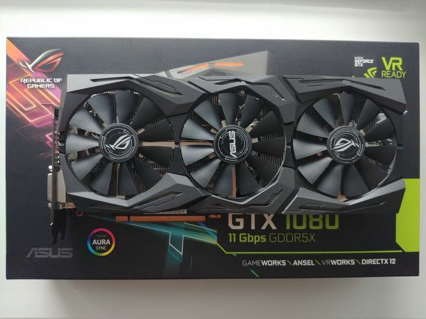 Видеокарта ASUS GeForce GTX 1080 11GBPS GDDR5X