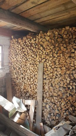 Drewno drzewo opałowe kominkowe rąbane suche