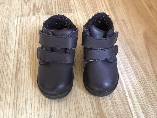 Демисезонні черевики 19р. туфли ботинки