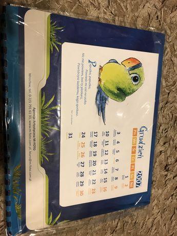 Kalendarz z papugą 2007 bedzie dobry na 2024
