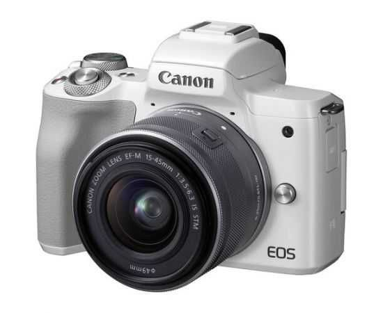 Фотоапарат Canon EOS M50 kit (15-45mm) IS STM White
