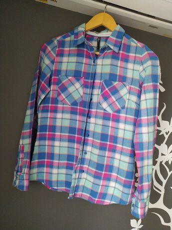 Koszula cropp krata pastelowa 36 s