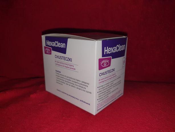 HexaClean, chusteczki do higieny brzegów powiek