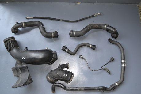 Патрубок радиатора, Шланг, Тройник BMW X5 E53 E70 E60 / БМВ Х5 Е53 Е70