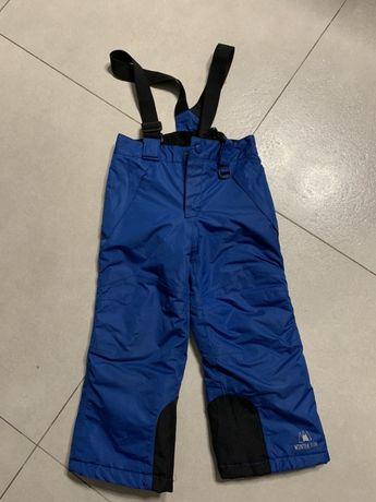 Spodnie narciarskie, sniegowe 98-104