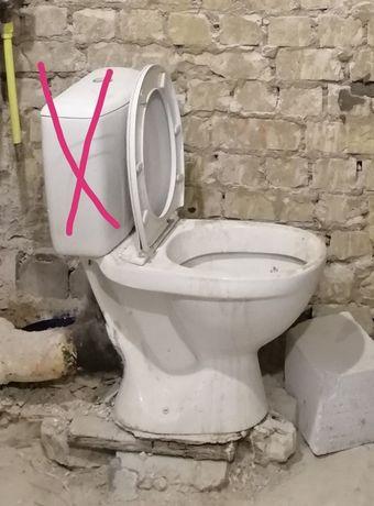 Унитаз строительный б/у