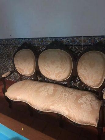 Canapé em pau Santo maciço