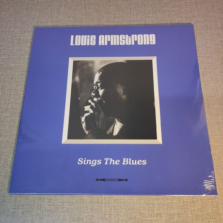 Louis Armstrong : Sings The Blues LP / Виниловая пластинка / VL