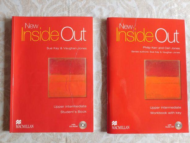 New Inside Out Upper Intermediate - Students Book & Workbook