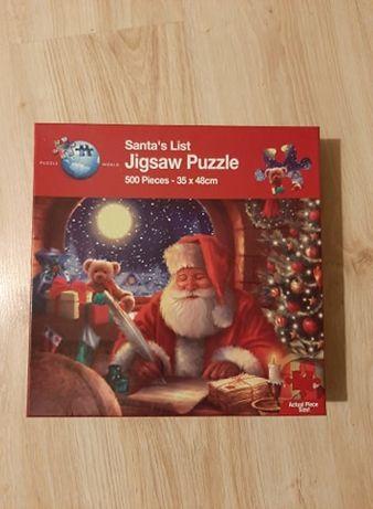 Puzzle 500 Santa`s List Jigsaw