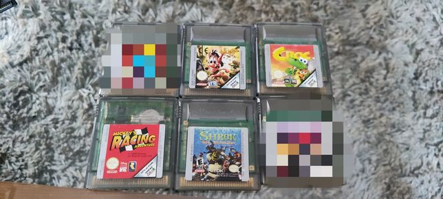 Pakiet 4 gier na GameBoy Color