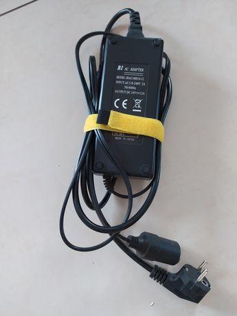 ac adapter wyjście 14v 12a gniazdo samochodowe