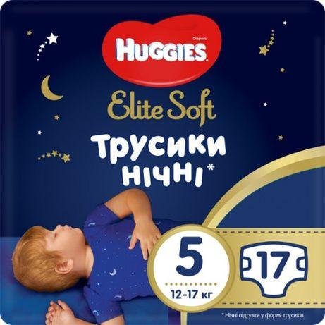 Huggies Ночные трусики-подгузники 5(12-17кг)17 шт нiчнi хагис,DryNites