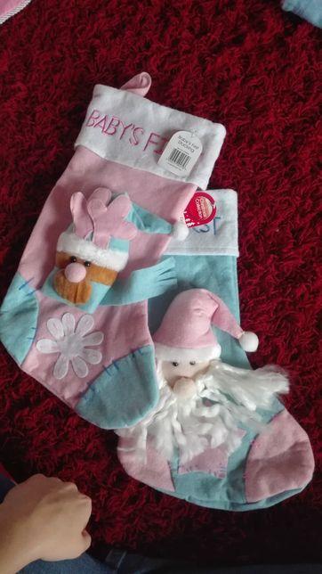 Skarpety świętego Mikołaja na prezenty NoWe