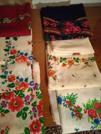 платки женские цветные шерстяные