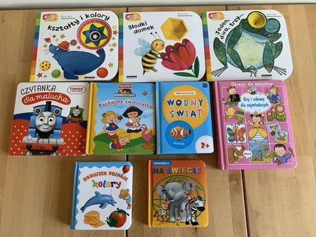 Akademia Mądrego Dziecka książeczki kolory kształty pierwsze słowa