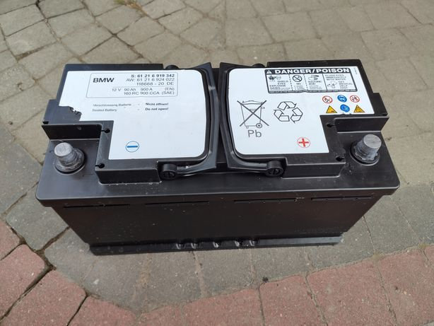 Akumulator samochodowy 12V 90Ah 900A oryginał BMW