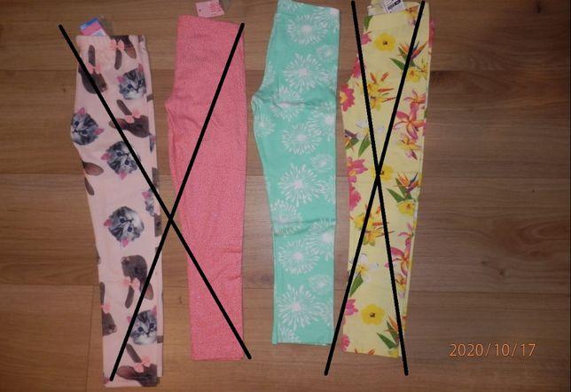 Ubranie dla dziewczynki rozm.116 NOWE cz2