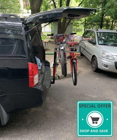 Багажник для 2 х велосипедов на фаркоп