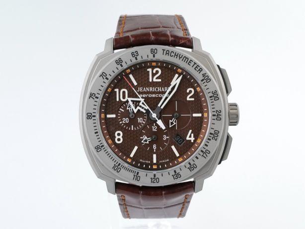 Мужские новые часы JeanRichard Aeroscope Chronograph 44 мм