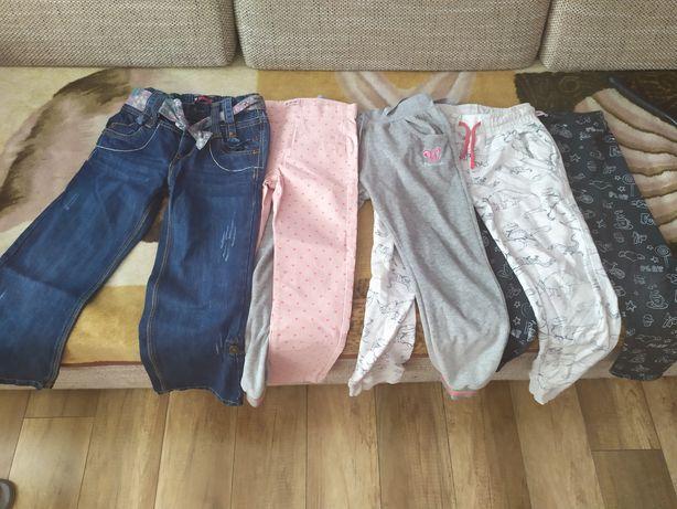 Spodnie 116/122 dla dziewczynki wysyłka nr 7