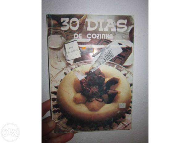 Livro de receitas culinária