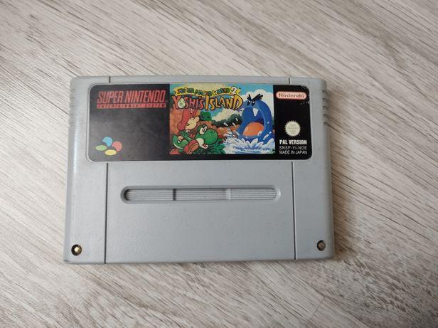 Super Mario World 2 Yoshi's Island SNES Super Nintendo