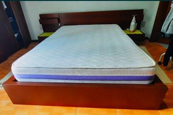 Conjunto cama de casal