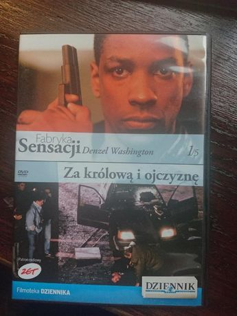 Denzel Washington w filmie Za królową i ojczyznę na dvd
