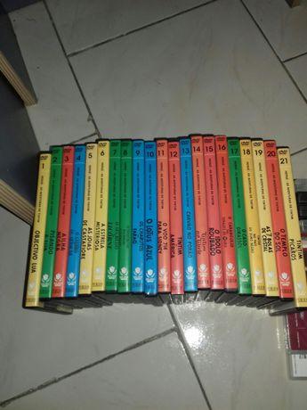 Colecção 21 cd DVD Tim Tim animação