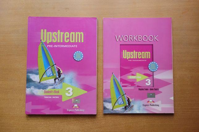 Upstream 3, pre-intermediate, podręcznik i ćwiczenia, j. angielski