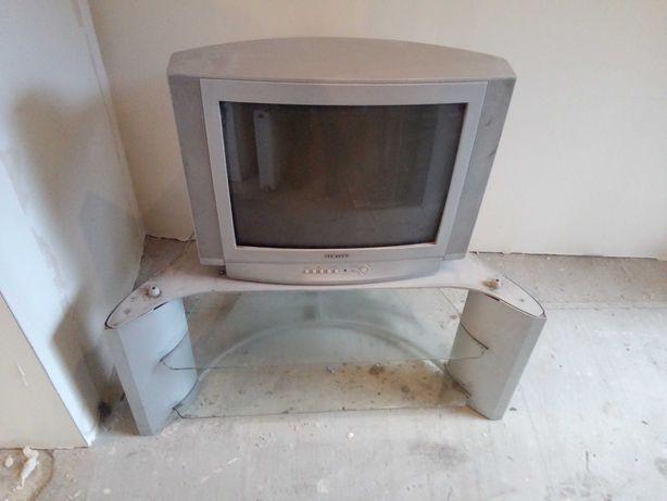 Telewizor kineskopowy +stolik