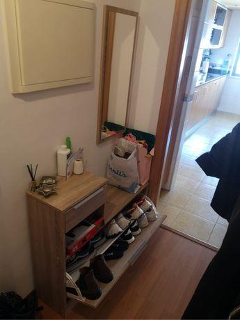 Movel de entrada + cabide e espelho