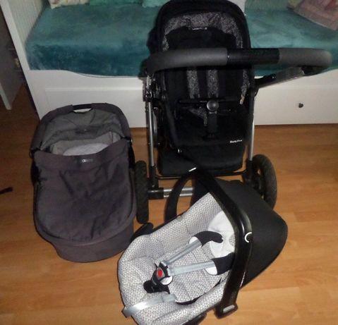 Maxi Cosi Mura 4 Plus 3w1 (spacerówka + gondola + fotelik Pebble)