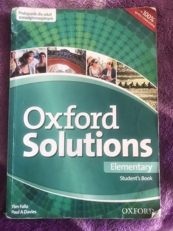 Oxford Solutions Student's book