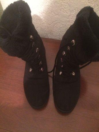 Ботинки сапожки жен.