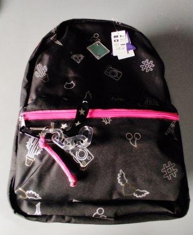CLAIRE'S nowy duży plecak sklep 170 zł converse crocs nike geox ecco