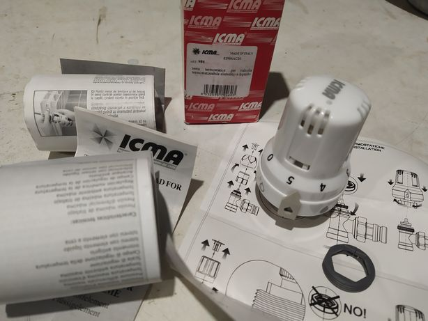 Новая Термоголовка термостатическая терморегулятор Icma