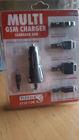 MULTI GSM CHARGER Ładowarki do telefonów samochod.