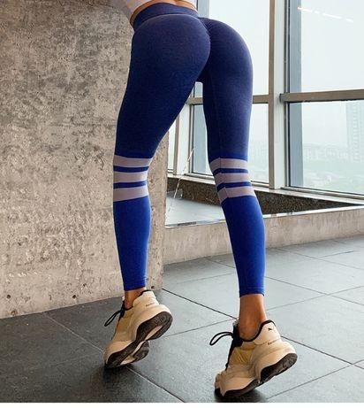 Лосины женские, лосины для йоги, фитнес спортивные, высокая тали