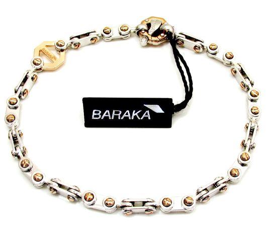 Золотой браслет Baraka. Золотая цепь Baraka. Цепочка Барака