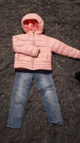 курточка, джинсы размер 104