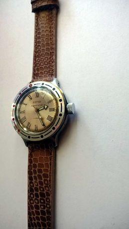 Wostok Amfibia rzymskie indeksy godzin mechaniczny zegarek CCCP