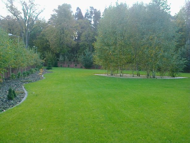 Ogrody. Zakładanie ogrodów trawników, nawadnianie, pielęgnacja