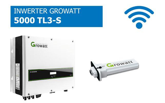 Falownik Growatt 5000 TL3-S WiFi Inwerter cena brutto